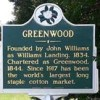 greenwood sign