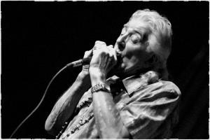 John Mayall Harmonica B/W