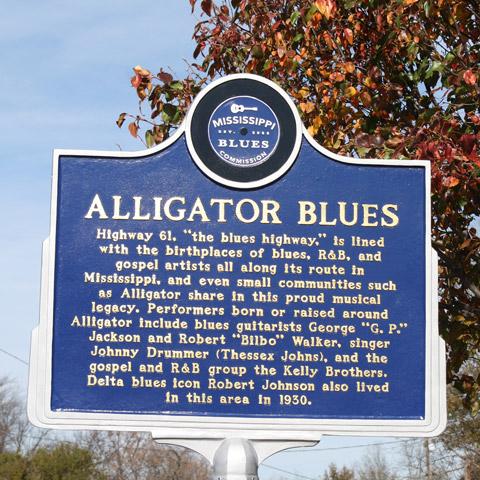 Blues Marker Alligator