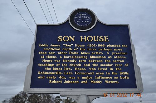 Son House Blues Marker