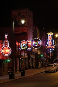 Beale Street Night